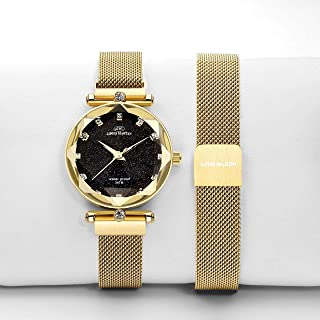 Louis Martin Casual Watch For Women Analog Stainless Steel - T677
