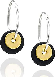 Best black onyx hoop earrings Reviews