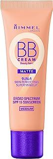 Rimmel Match Perfection BB Cream Foundation Matte, Medium, 1 Fluid Ounce
