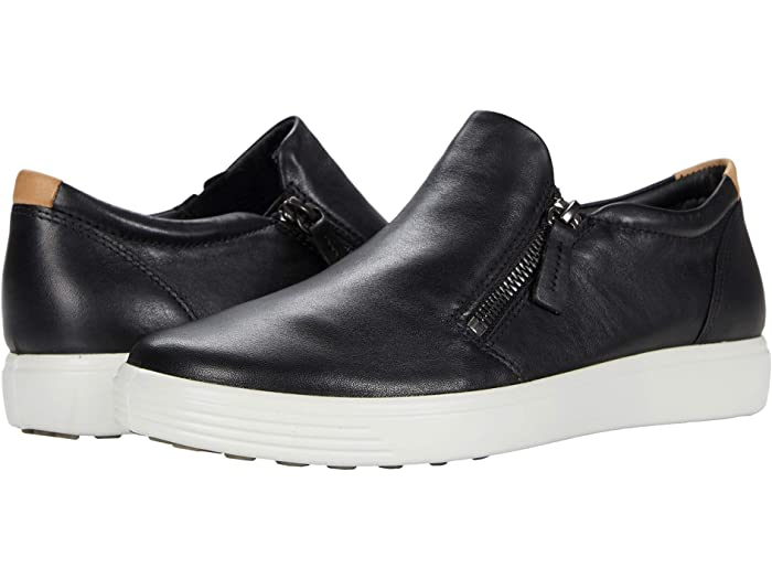 ECCO Soft 7 Side-Zip Sneaker | Zappos.com