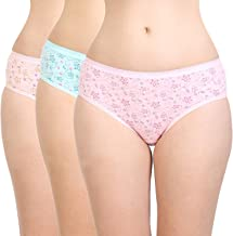 BODYCARE Printed Cotton Briefs in Pack of 3