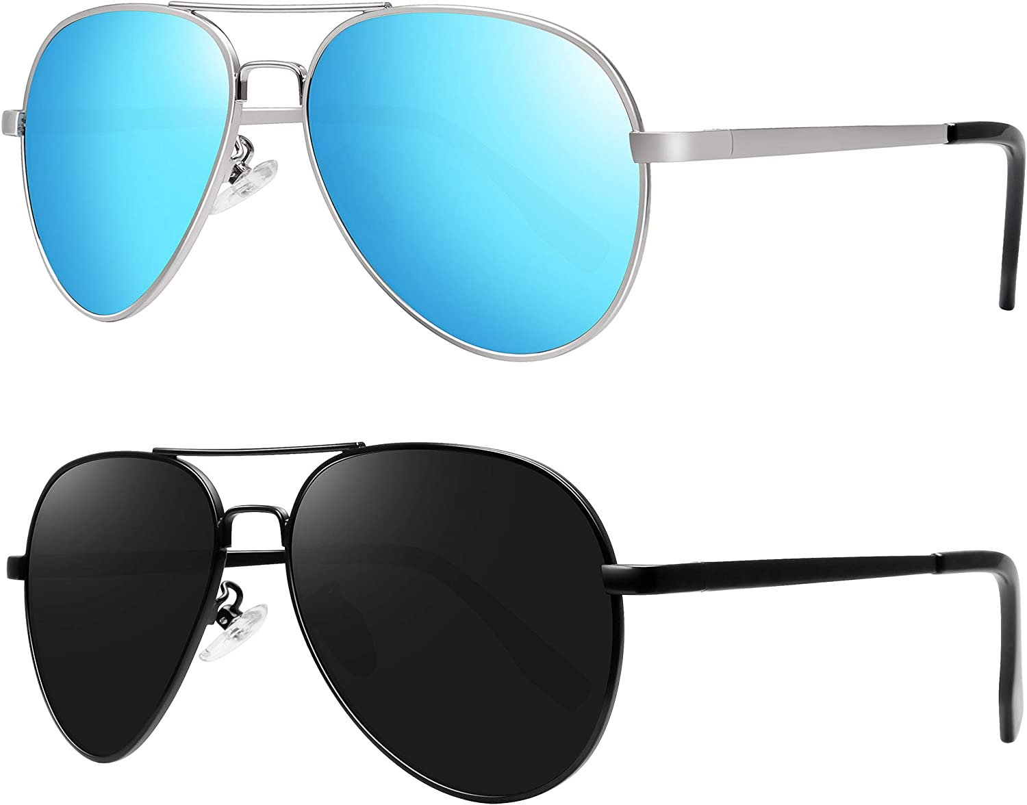 Kids Polarized 4 years warranty Aviator Sunglasses for Weekly update Mirrored Boys Girls L with