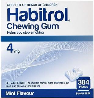 Habitrol Nicotine Gum 4mg Mint Bulk 384 Pieces by Habitrol