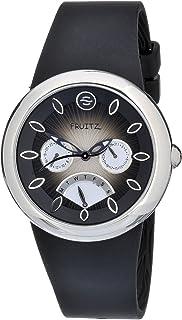 Philip Stein Women's F43S-BR-B Quartz Stainless Steel Black Dial Watch