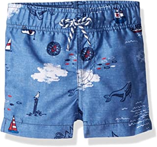 Mud Pie Baby Boys Nautical Swim Trunks