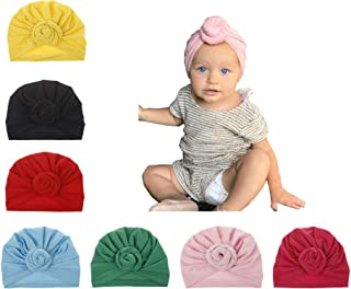 Upsmile Baby Girl Hat Newborn Hospital Hat Infant Turban...