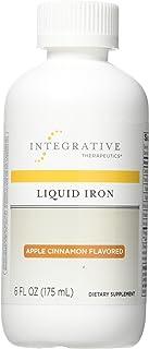 Integrative Therapeutics - Liquid Iron (Non Heme) - with Vitamin B12 and Folic Acid - Apple Cinnamon Flavor...