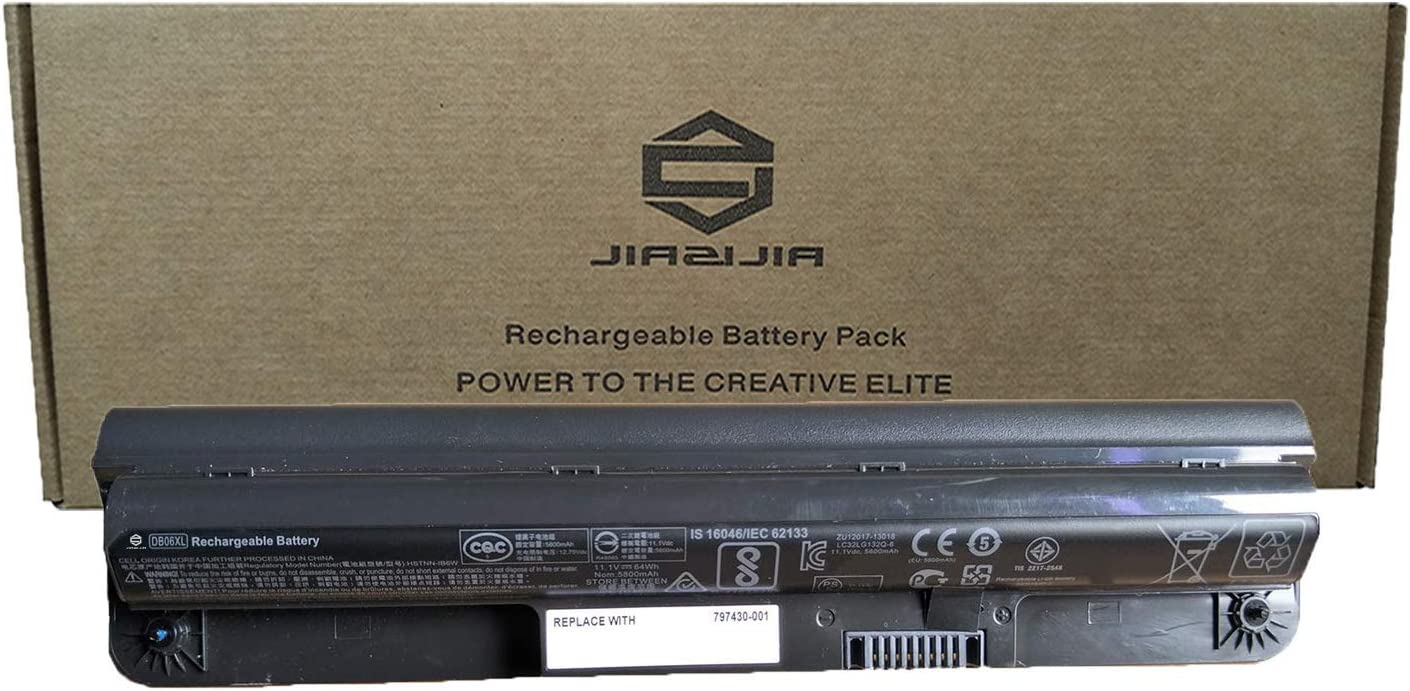 JIAZIJIA DB06XL Laptop Battery Rare Replacement for Los Angeles Mall EE 11 Probook HP