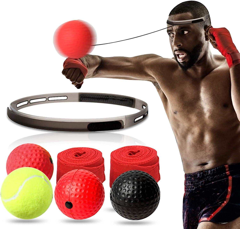 TOCO Ranking TOP12 FREIDO Boxing Reflex Ball Tampa Mall Set Plus - React 4 He