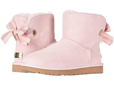 UGG Customizable Bailey Bow Mini (Seashell Pink) Women