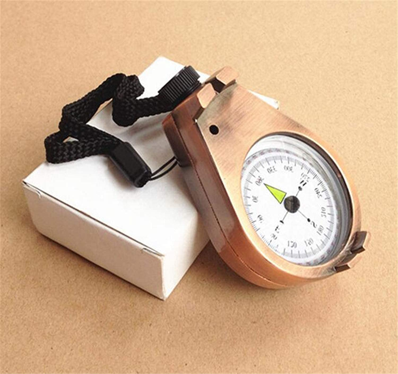 Portable Pocket Compass Brass Metal Camping Hiking Compass Outdoor Navigation Tools