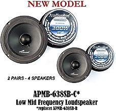 """$104 » (4) AUDIOPIPE APMB-638SB-C Two Pair 6"""" Sealed Back LOUDSPEAKERS CAR Audio"""