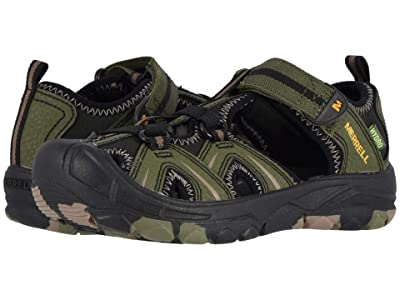 Merrell Kids Hydro (Toddler/Little Kid/Big Kid) (Olive/Camo) Boys Shoes