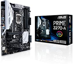 ASUS PRIME Z270-A LGA1151 DDR4 DP HDMI DVI M.2 USB 3.1 Z270 ATX Motherboard