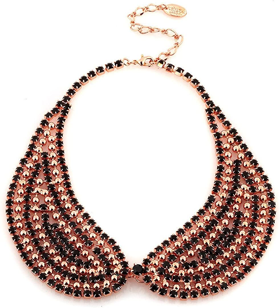 Swarovski Crystal Peter Cheap bargain Pan Styled Gorgeous J Collar Max 83% OFF in Necklace