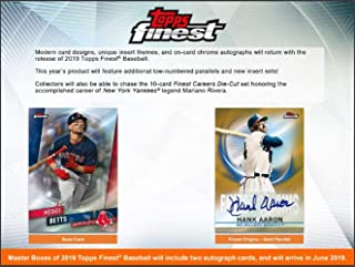 topps finest baseball box