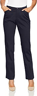 LEE Women's Flex Motion Regular Fit Straight Leg Pant