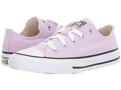 Converse Kids Chuck Taylor(r) All Star(r) Seasonal Ox (Little Kid) (Lilac Mist) Girls Shoes