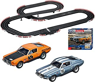 Carrera 30194 Digital 132 Ford Fastbacks Slot Car Racing System - Includes over 30 feet of Race Track, 2 Vehicles, and 2 Controllers