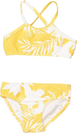 Rib Tankini Set (Toddler/Little Kids)