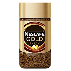 Nescafe Gold Rich and Smooth Coffee Powder, 50g Glass Jar