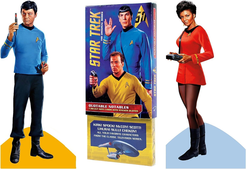 Original Star Trek Greeting 67% OFF of fixed price Card Boxed NEW before selling ☆ Die Set - Silhouette Cut
