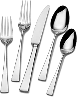 Mikasa 5100238 Lucia 20-Piece 18/10 Stainless Steel Flatware Set , Service for 4