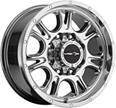 Vision Off-Road Wheel Fury Style: 399 RWD, Finish: Chrome, Wheel Size Inches: 17X8.5 PCD: 8-6.5