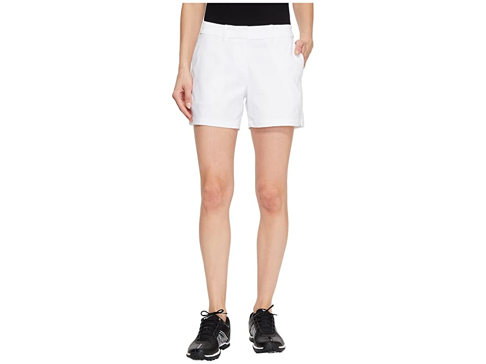 Nike Golf Flex Shorts Woven 4.5 (White/White) Women