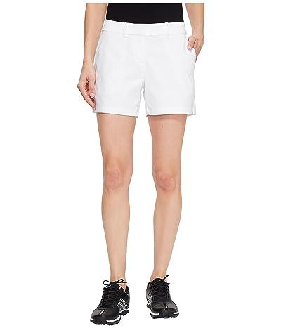 Nike Golf Flex Shorts Woven 4.5 (White/White) Women
