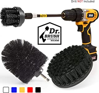 Holikme 4Pack Drill Brush Power Scrubber Cleaning Brush Extended Long Attachment Set All..