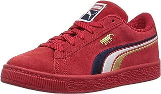 PUMA Kids' Suede Classic Embroidery Sneaker