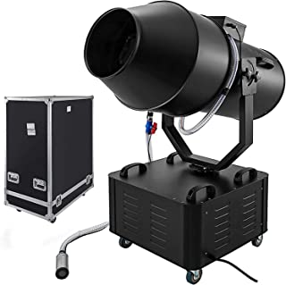 Happybuy 3000W Jet Foam Machine Automatic Moving Head Foam Party Machine with Air Box Packaging Special Effects Stage Machine for Party Wedding Disco