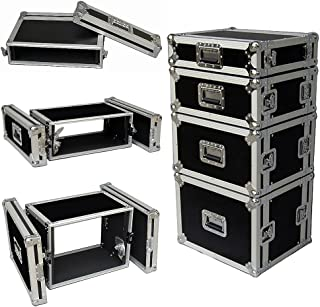 8 Space 8u 12 Inches Deep Heavy Duty 3/8 Ply ATA Amp Rack Case - Sale Price