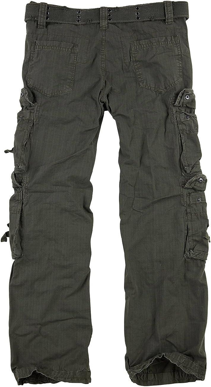 Trooper Royal Traveler Pantalon Herren Cargo Pantalon Lightning Edition Im Bundle avec UD Briquet de Tempête Royal Green
