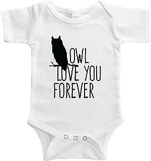 Starlight Baby Owl Love You Forever Bodysuit