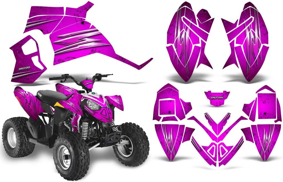 CreatorX Graphics Price reduction Kit Decals Stickers Polaris Max 81% OFF 90 for 110 Outlaw
