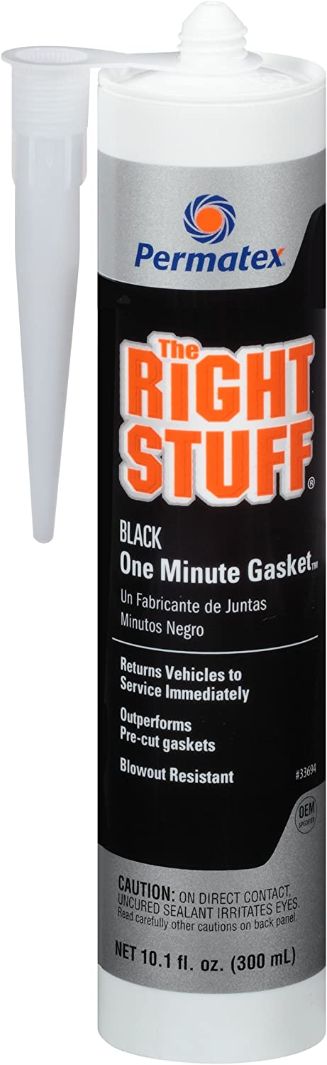 Permatex 33694 The Right Stuff Black Maker Gasket Quality inspection Manufacturer regenerated product oz. 10.1