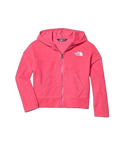 The North Face Kids Glacier Full Zip Hoodie (Little Kids/Big Kids) (Mr. Pink) Girl