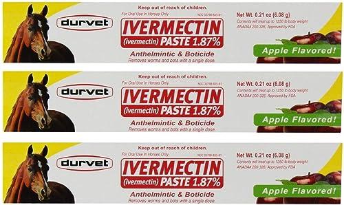 Durvet Ivermectin Paste Equine Dewormer
