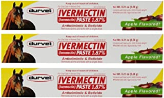 Ivermectin Paste Equine Dewormer - 3 Pack