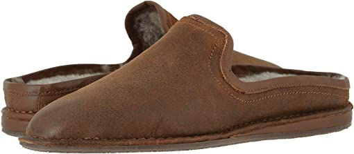Brown Italian Suede/Shearling
