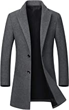 mens grey coat