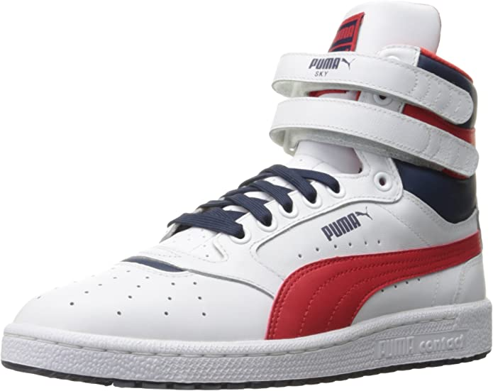 Amazon.com | PUMA Men's RBR WSSP DISC MID Sneaker, 8.5 M US ...
