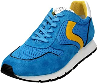VOILE BLANCHE Trail Running Shoes Mens Suede Turquoise