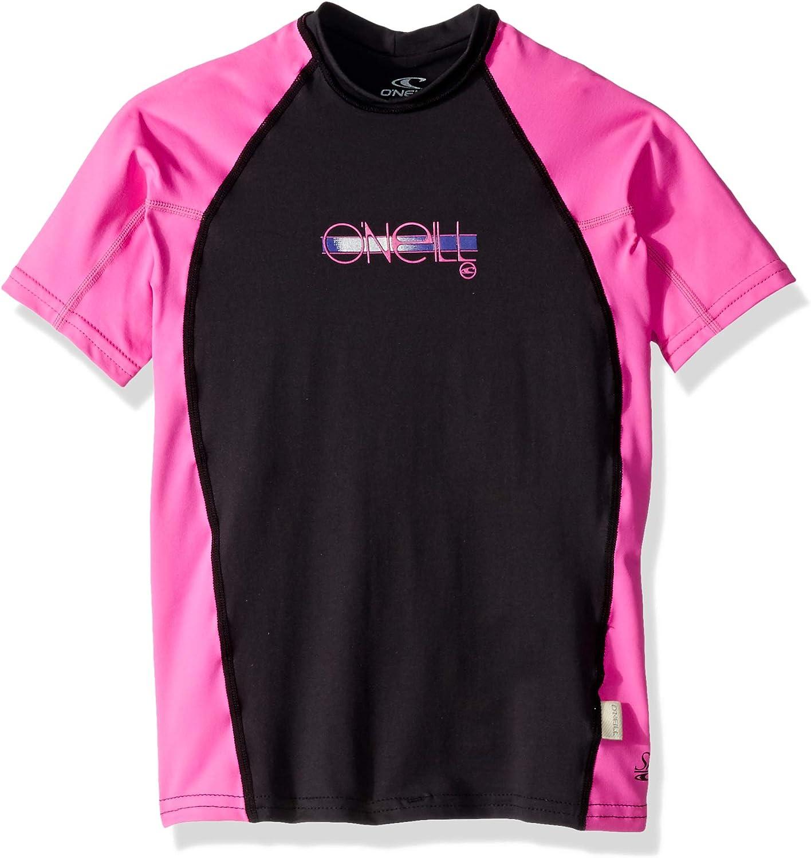 O 'Neill Mädchen Premium Skins UPF 50 + Short Sleeve Rash Guard B0757KFP6J  Hervorragende Funktion