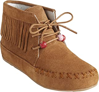 bd67a14f2906a3 Amazon.fr : bottines franges - Chaussures fille / Chaussures ...