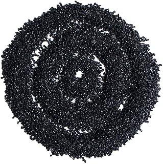 Greatangle Tormalina Nera Naturale Pietra Minerale di Roccia Pietre e minerali Naturali Particelle di tormalina Nera Naturale Granuli Grezzi Neri