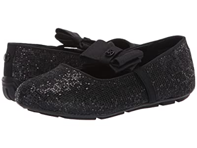 MICHAEL Michael Kors Kids Rover Day (Little Kid/Big Kid) (Black Shimmer) Girls Shoes