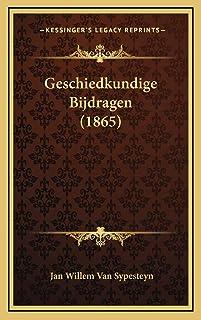 Geschiedkundige Bijdragen (1865)